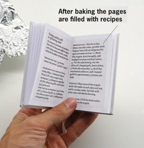 Книга которую нужно запекать в духовке