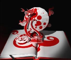 Красивые необычные объемные книги