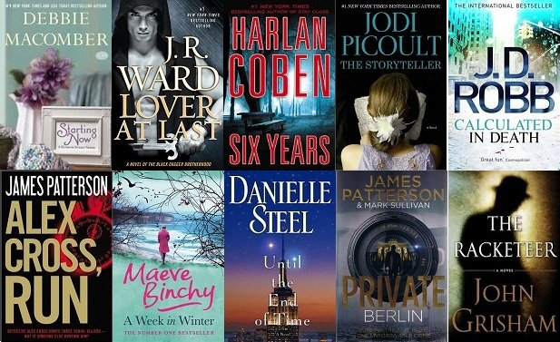 Самые популярные мировые книги 2013