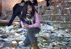 «Luzinterruptus» светящиеся книги на улицах мадрида