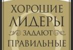 Джон Максвелл «Хорошие лидеры задают правильные вопросы»