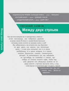 «Между двух стульев» Евгений Клюев