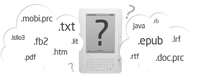 Форматы электронных книг для разных устройств