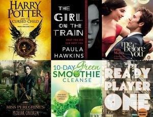 Самые популярные книги 2016 года