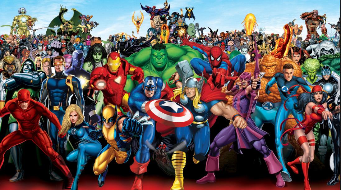 100 лучших героев комиксов