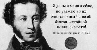 Цитаты Пушкина в картинках