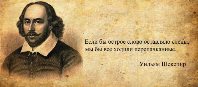 Цитаты Уильяма Шекспира в картинках
